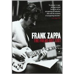 Frank Zappa -The Freak-Out List [DVD] [2010]